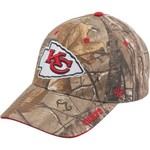 '47 Kansas City Chiefs Frost Realtree Camo MVP Cap