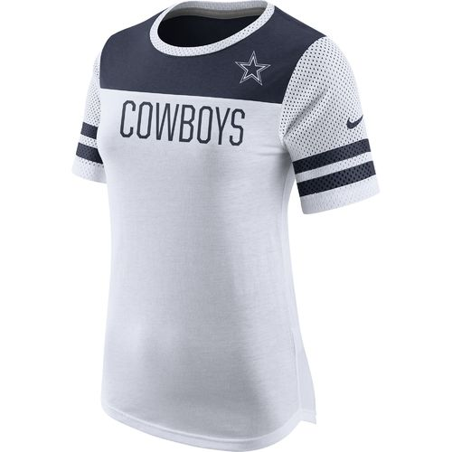 Nike Women's Dallas Cowboys Championship Drive Fan Top