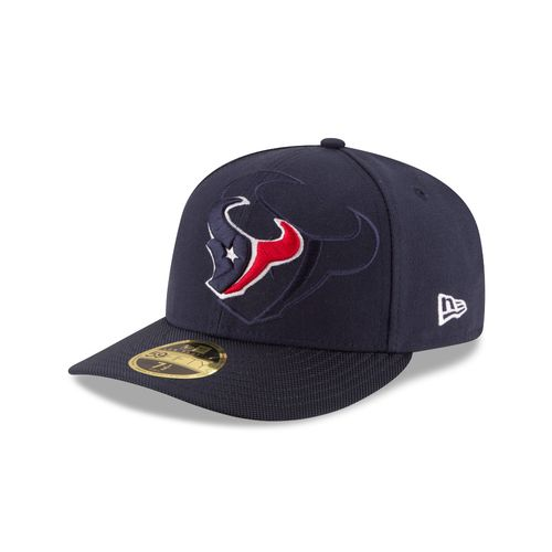 New Era Men's Houston Texans 59FIFTY Onfield Sideline Low Crown Cap