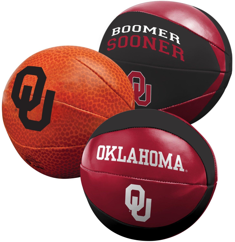 Rawlings® University of Oklahoma 3-Point Shot Softee Basketballs