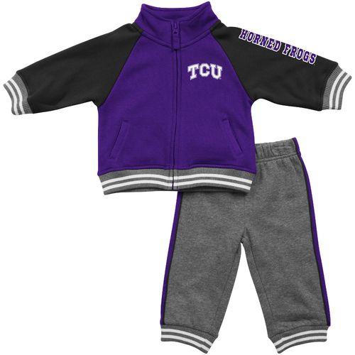 Colosseum Athletics™ Infants'/Toddlers' Texas Christian University Aviator Fleece Jacke