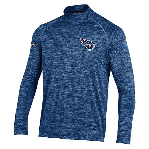 Under Armour™ NFL Combine Authentic Men's Tennessee Titans F16 Twist Tech 1/4 Zip Pullover