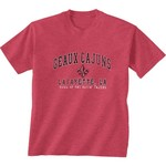 New World Graphics Men's University of Louisiana at Lafayette Local Phrase T-shirt