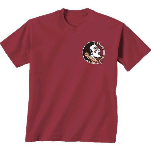 New World Graphics Women's Florida State University Madras T-shirt - view number 2