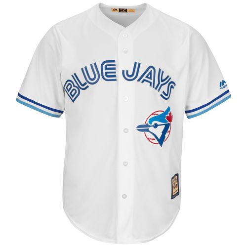 Majestic Men's Toronto Blue Jays Kelly Gruber #17 Cool Base Cooperstown Jersey - view number 3
