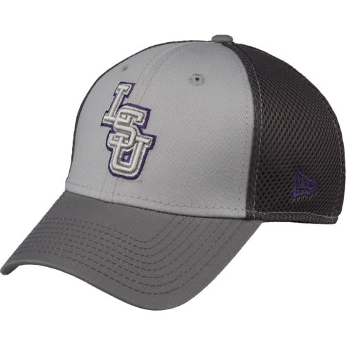 New Era Men's Louisiana State University Grayed Out Neo 39THIRTY Cap