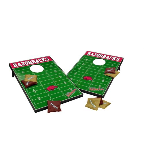 Display product reviews for Wild Sports University of Arkansas Tailgate Bean Bag Toss Game