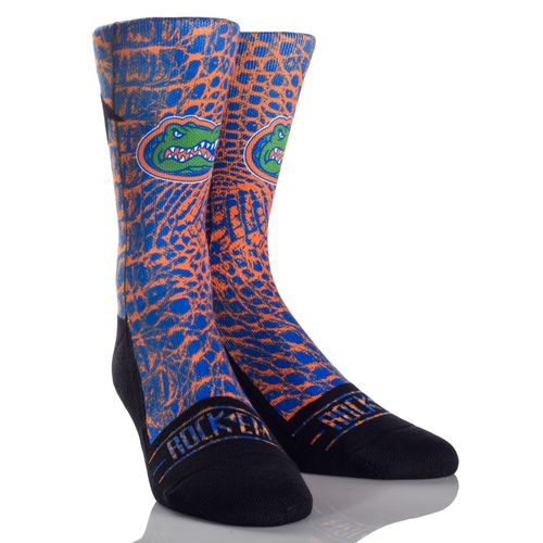 Rock 'Em Apparel Men's University of Florida Gator Skin Socks