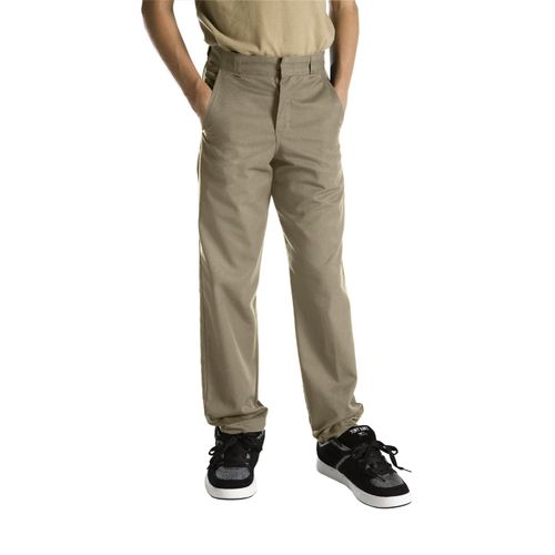 Display product reviews for Dickies Boys' Classic Fit Straight Leg Flat Front Uniform Pant