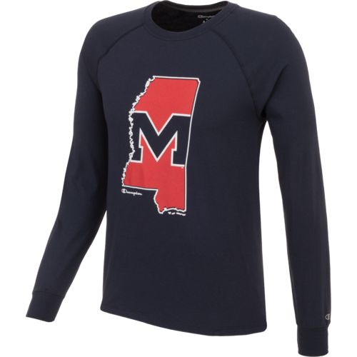 Champion™ Men's University of Mississippi Long Sleeve T-shirt