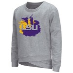 Colosseum Athletics™ Girls' Louisiana State University Alaia Long Sleeve Pullover