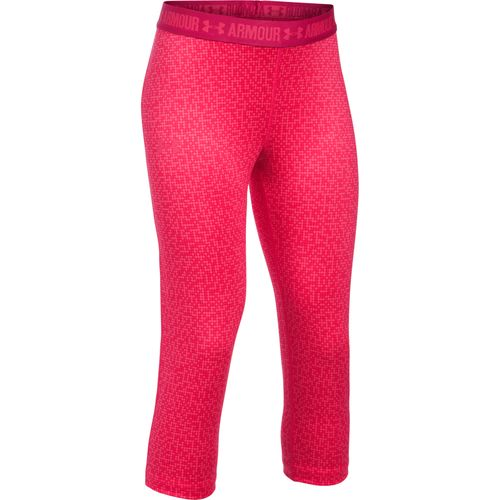 Under Armour Girls' UA Printed Capri Pant - view number 1