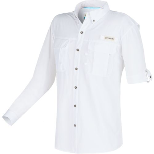 Magellan Outdoors™ Men's Laguna Madre Solid Long Sleeve Fishing Shirt