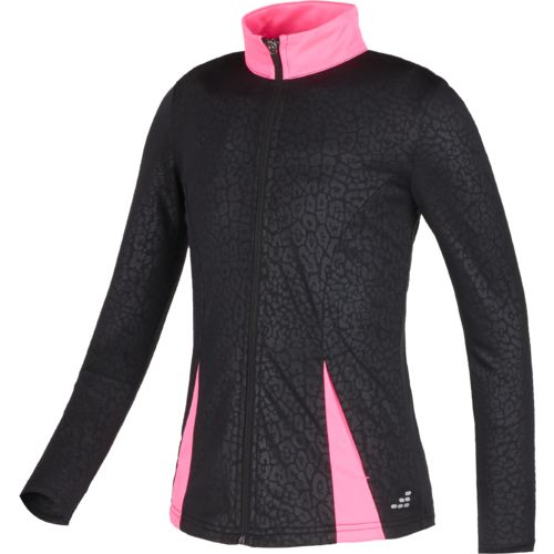 BCG Girls Full Zip Embossed Training Jacket