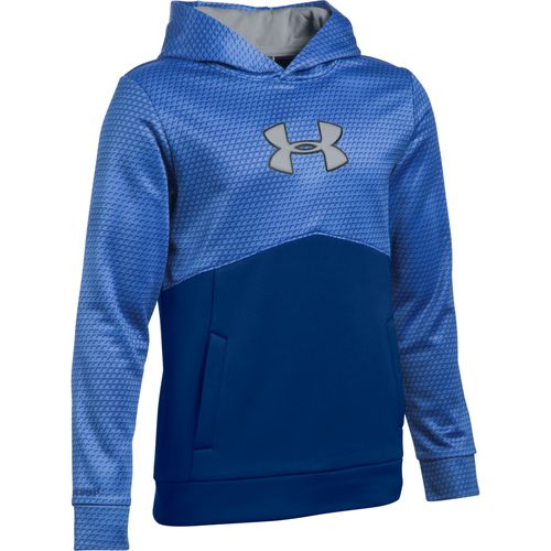 Under Armour® Boys' Storm Mid Logo Fleece Hoodie