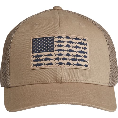 Columbia sportswear men 39 s pfg mesh ball cap academy for Mesh fishing hats
