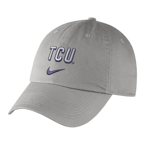Nike Men's Texas Christian University Heritage86 Wordmark Swoosh Flex Cap - view number 1