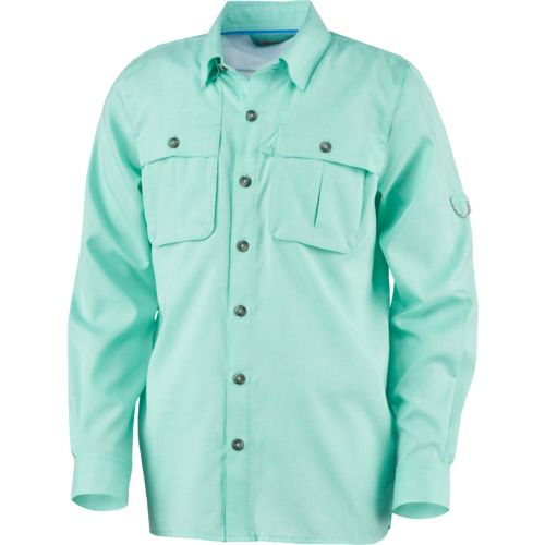 Display product reviews for Magellan Outdoors Boys' Fish Gear Back Country Long Sleeve Fishing Shirt