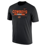 Nike™ Men's Oklahoma State University Dri-FIT Legend Staff T-shirt - view number 1