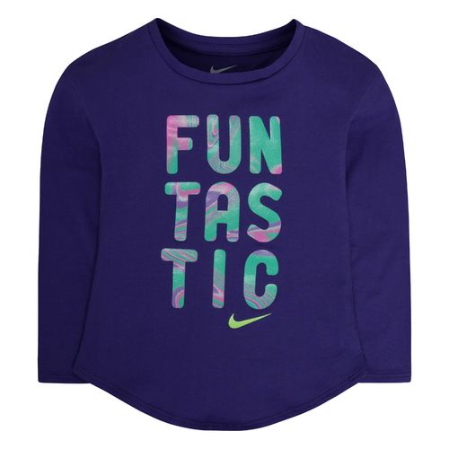 Nike Girls' Funtastic Modern Long Sleeve T-shirt