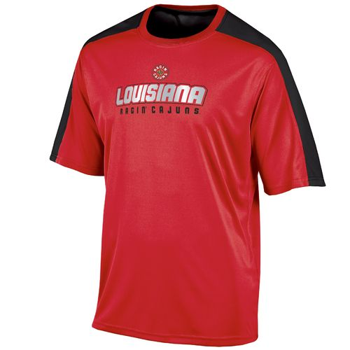 Champion™ Men's University of Louisiana at Lafayette Colorblock T-shirt