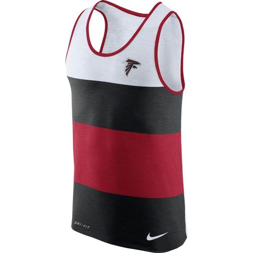 Nike™ Men's Atlanta Falcons Dry Stripe Tank Top
