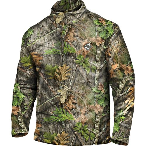 Ol' Tom Adults' Performance 1/4 Zip Camo Jacket - view number 1
