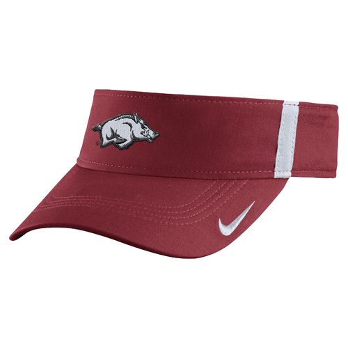 Nike Men's University of Arkansas AeroBill Sideline Visor