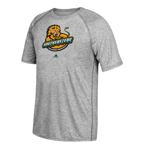 adidas Men's Southeastern Louisiana University School Logo Ultimate T-shirt - view number 1