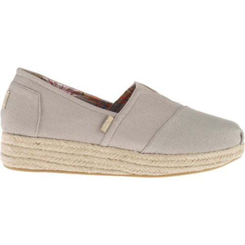 SKECHERS Women's Bobs Highlights Casual Wedge Shoes