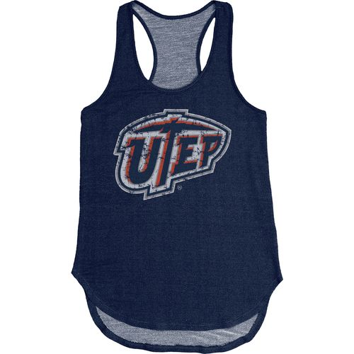 Blue 84 Women's University of Texas at El Paso Nala Premium Terry Tank Top