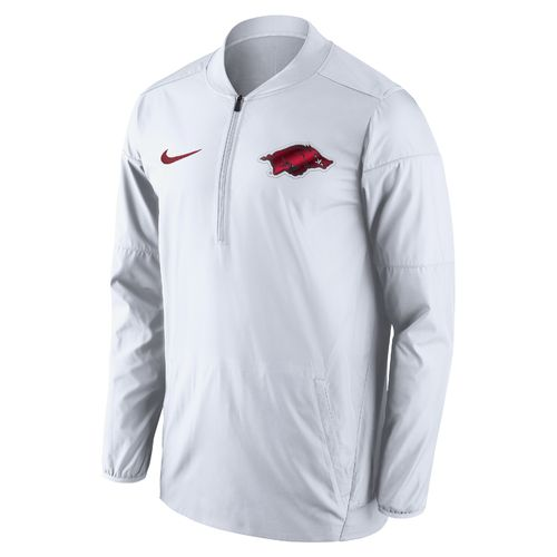 Nike Men's University of Arkansas Lockdown 1/2 Zip Jacket