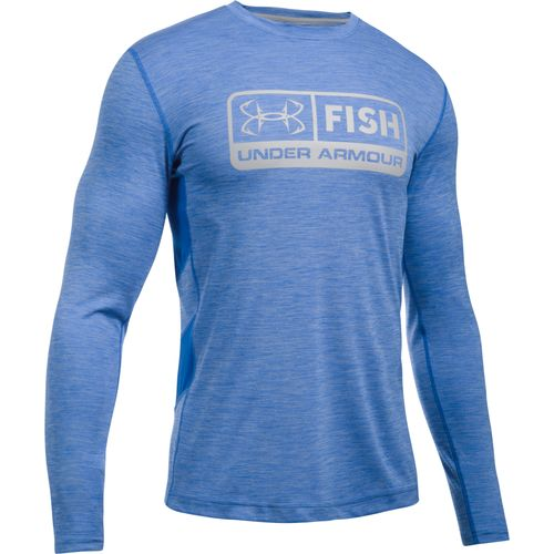 Under Armour™ Men's Fish Hunter Tech Pill Long Sleeve T-shirt