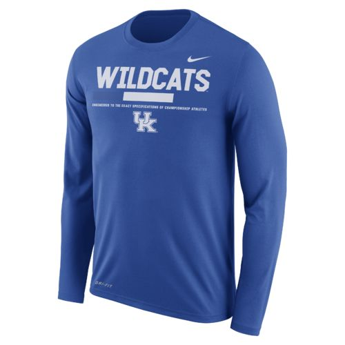Nike™ Men's University of Kentucky Dry Legend Long Sleeve Staff T-shirt