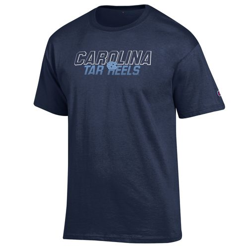 Champion Men's University of North Carolina Short Sleeve Jersey T-shirt - view number 1