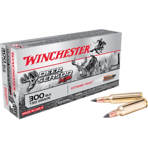 Display product reviews for Winchester Deer Season XP 300 Blackout 150-Grain Rifle Ammunition