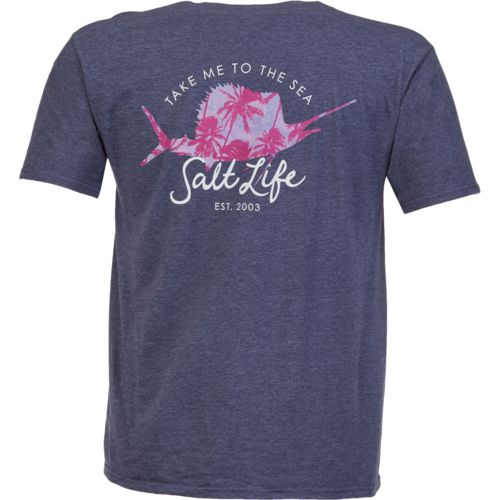 Salt Life Women's Salty Palms Short Sleeve T-shirt