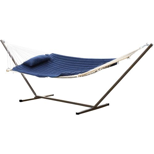 Hatteras Hammocks® Rope Hammock with Stand Combo Set - view number 1