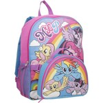 My Little Pony Girls' Rainbow Backpack with Lunch Kit - view number 2