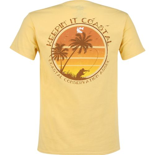 Display product reviews for CCA Men's Keepin' It Coastal Sunset T-shirt