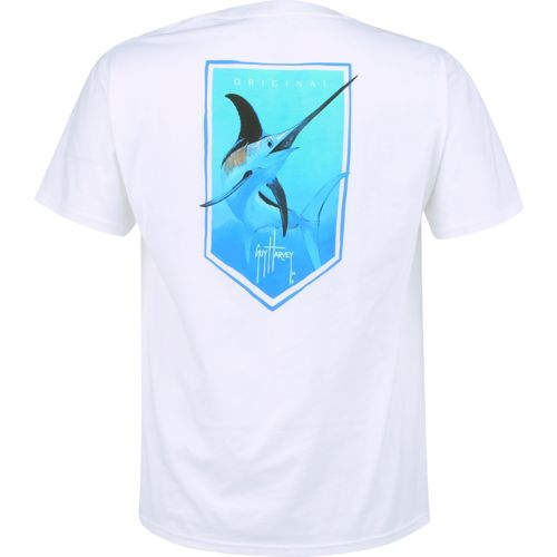 Guy Harvey Men's Saber Pocket T-shirt