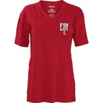 Three Squared Juniors' University of Louisville Team For Life Short Sleeve V-neck T-shirt - view number 2