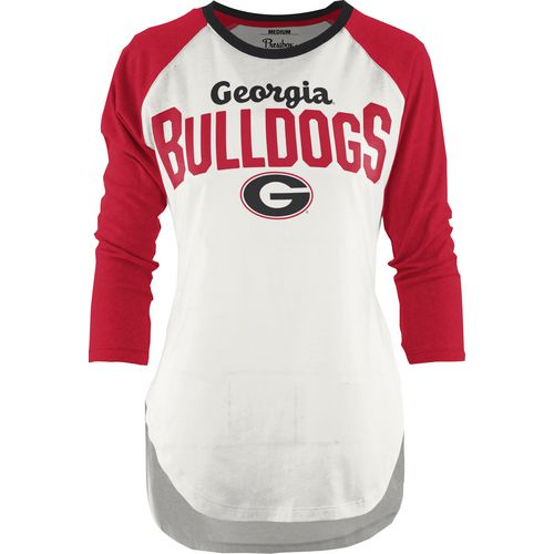 Three Squared Juniors' University of Georgia Quin T-shirt