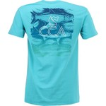 CCA Men's 3 Fish Palm T-shirt - view number 1