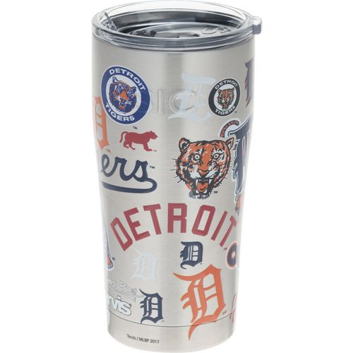 Tervis Detroit Tigers 20 oz All Over Stainless-Steel Tumbler