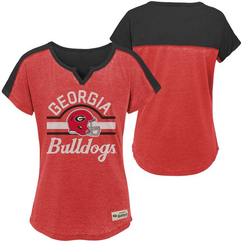 Gen2 Girls' University of Georgia Tribute Football T-shirt - view number 3