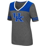 Colosseum Athletics Women's University of Kentucky Twist V-neck 2.3 T-shirt - view number 1