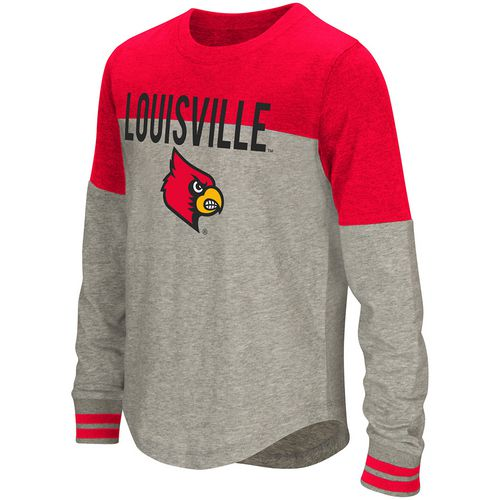 Colosseum Athletics Girls' University of Louisville Baton Long Sleeve T-shirt