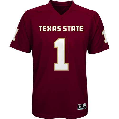 Gen2 Boys' Texas State University Football Jersey Performance T-shirt - view number 1