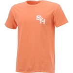 New World Graphics Women's Sam Houston State University Comfort Color Initial Pattern T-shirt - view number 3